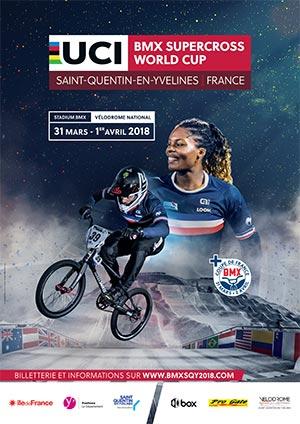 Bmx coupe du monde saint quentin en yvelines mars 2018