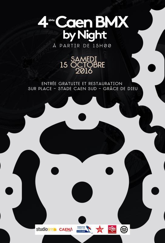 Caen bmx night 2016