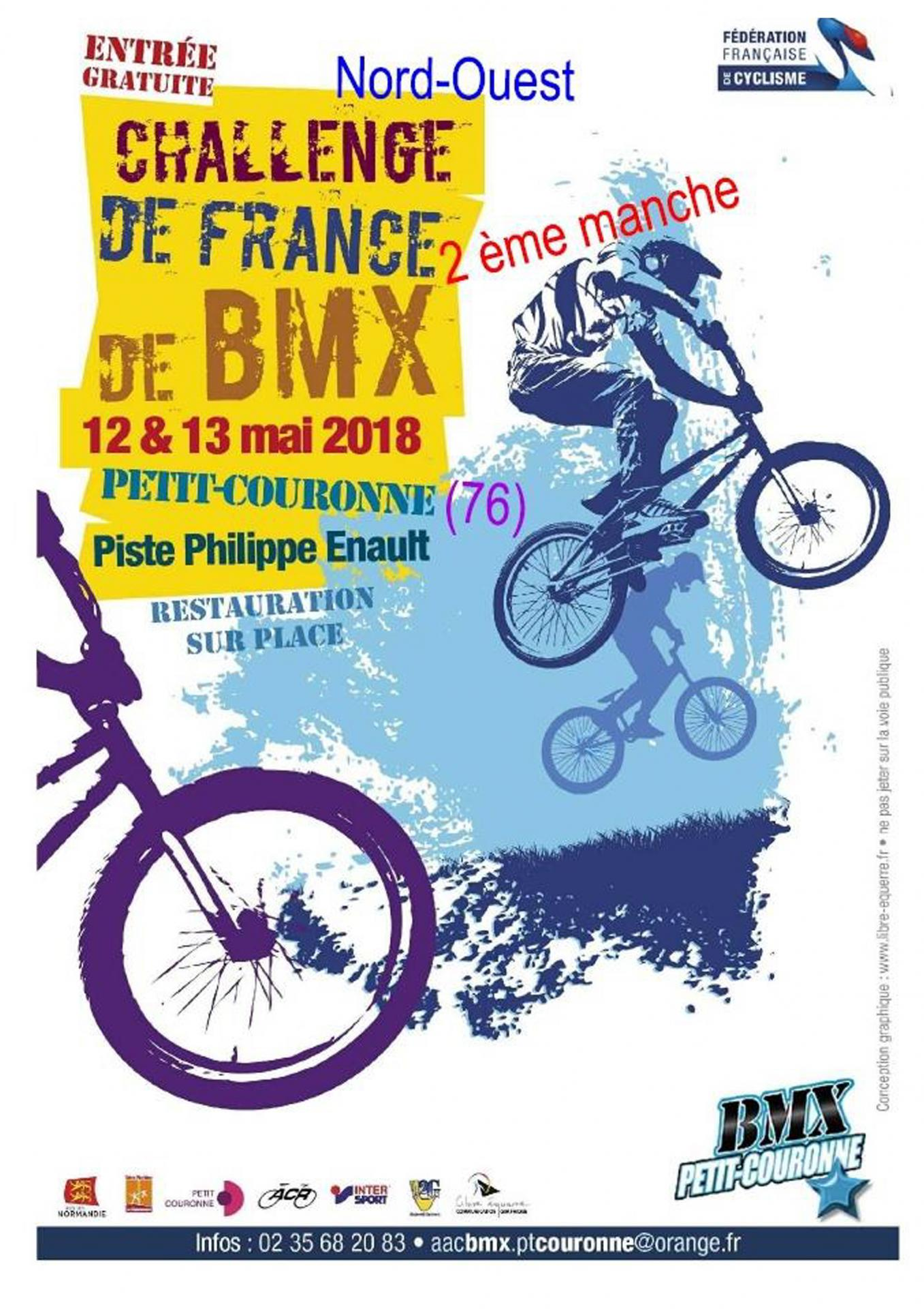 Challenge france nord ouest 2018 pt couronne