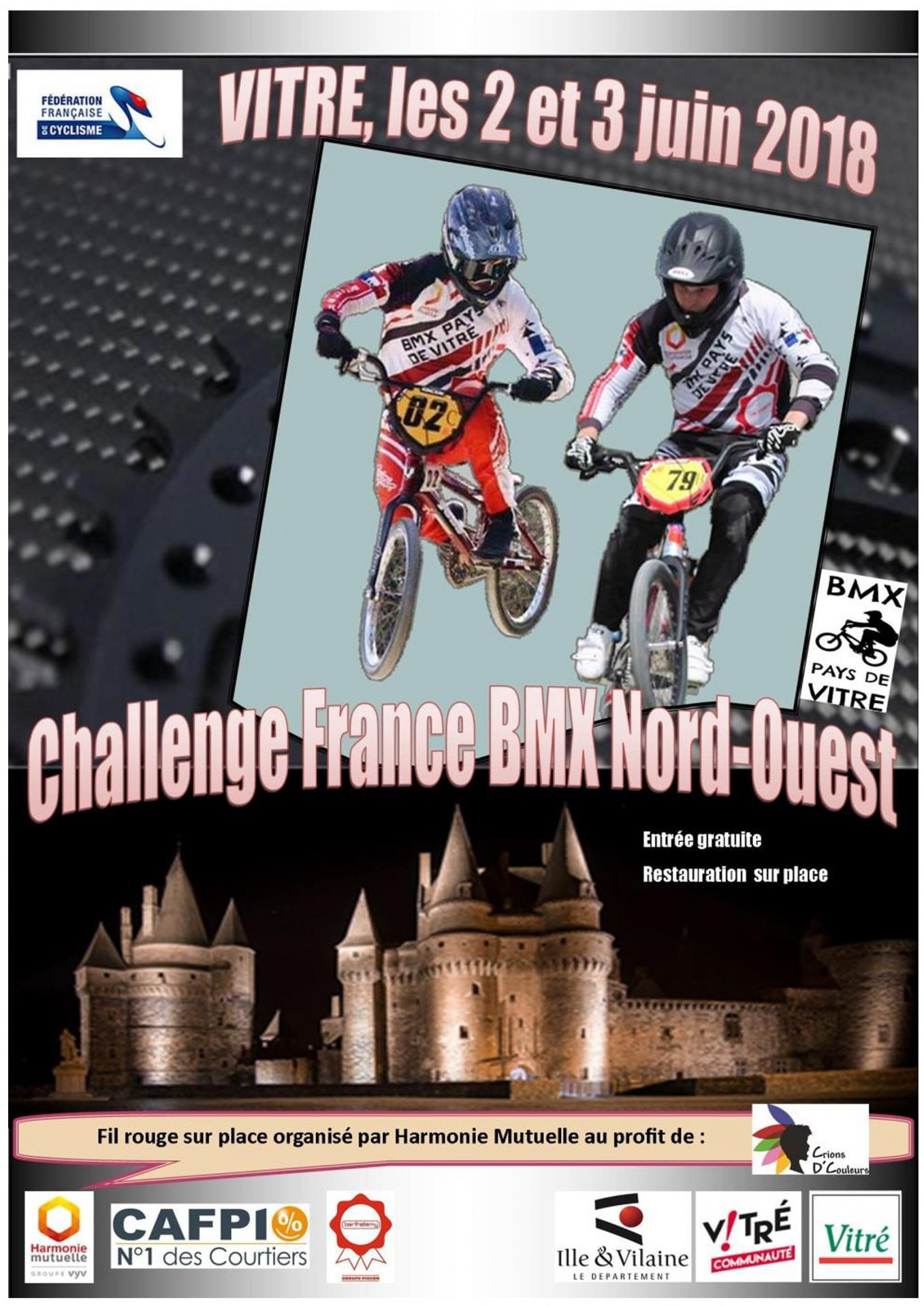 Challenge france nord ouest 2018 vitre