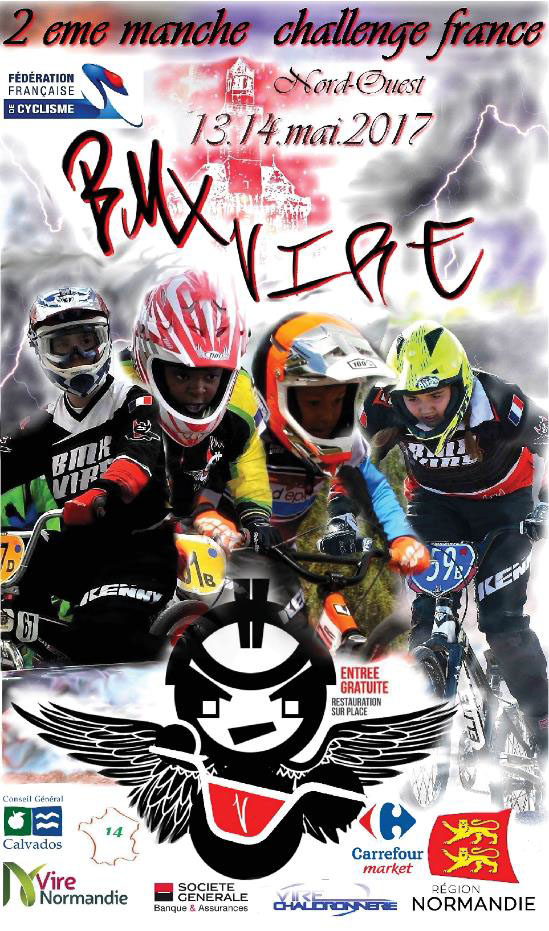 Guide competition bmx challenge france nord ouest vire nor 2277 3