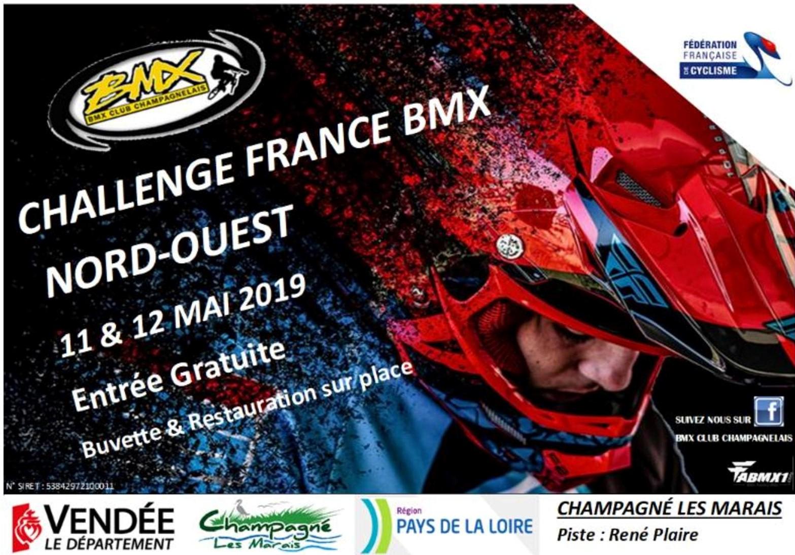 Guide competition bmx challenge nord ouest champagne les marais