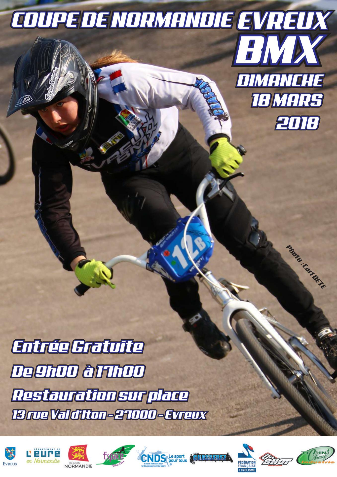 Invitation coupe de normandie evreux 2018 1