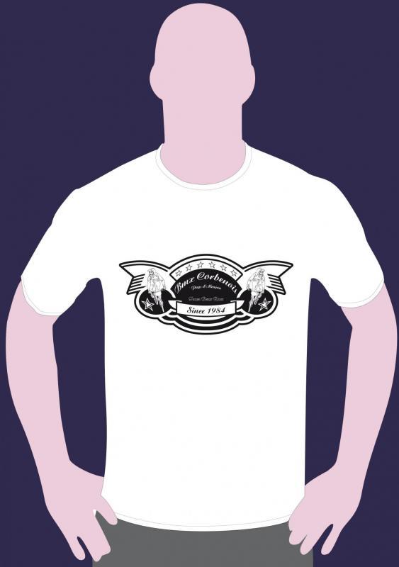 T shirt vintage blanc
