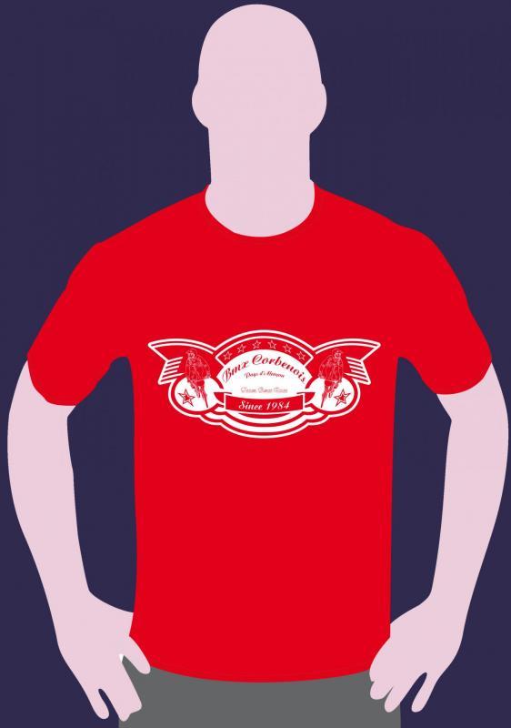 T shirt vintage rouge